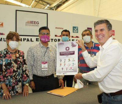 Ricardo Sheffield firma pacto de civilidad ante el IEEG
