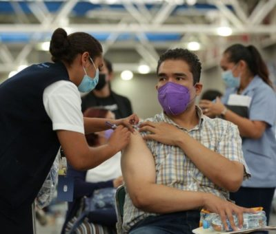 Con más de 118 mil dosis cierra el estado de Guanajuato la jornada de vacunación para los trabajadores de la Educación