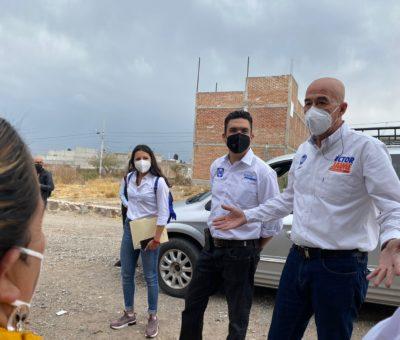 Visita Éctor Jaime Ramírez Barba polígono de Barranca de Venaderos
