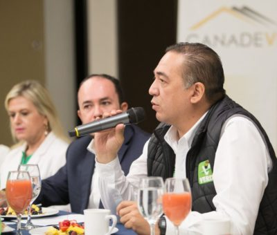 Mano dura a los acaparadores de tierra y apoyos para los desarrolladores: Sergio Contreras