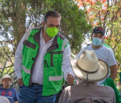 Sergio Contreras asegura que de llegar a ganar las elecciones, especialistas de Estados Unidos y América Latina, capacitarán a la Policía Especializada