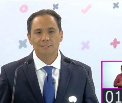 Experiencia Compromiso y propuestas coherentes fue como el candidato Moy Cortéz ganó ante sus contendientes en el debate organizado por el IEEG