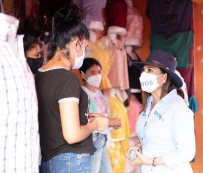 Creará Lorena Alfaro políticas públicas para el desarrollo de las mujeres irapuatenses