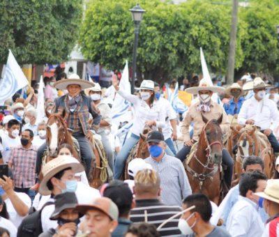 Habitantes de comunidades dicen sí para votar por Lorena Alfaro