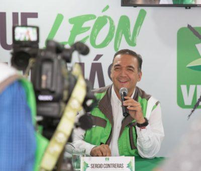 Presenta Sergio Contreras, 10 soluciones para los primeros 100 días de gobierno