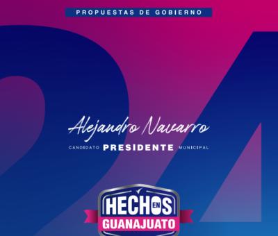 Plan 24, las propuestas de Navarro al alcance de todas y todos