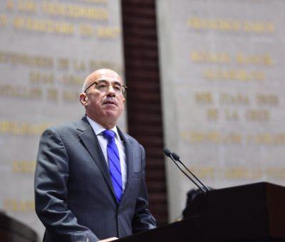 Va Éctor Jaime Ramírez Barba por Construcción del estado de derecho, en paz, con justicia y seguridad