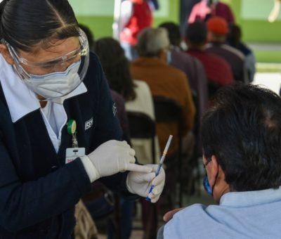 Inicia Ciudad de México vacunación de adultos de 50 a 59 años