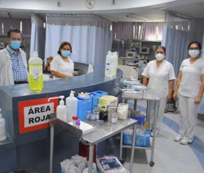 Se reactiva el Hospital General de Irapuato luego de un año y 3 meses de pandemia.