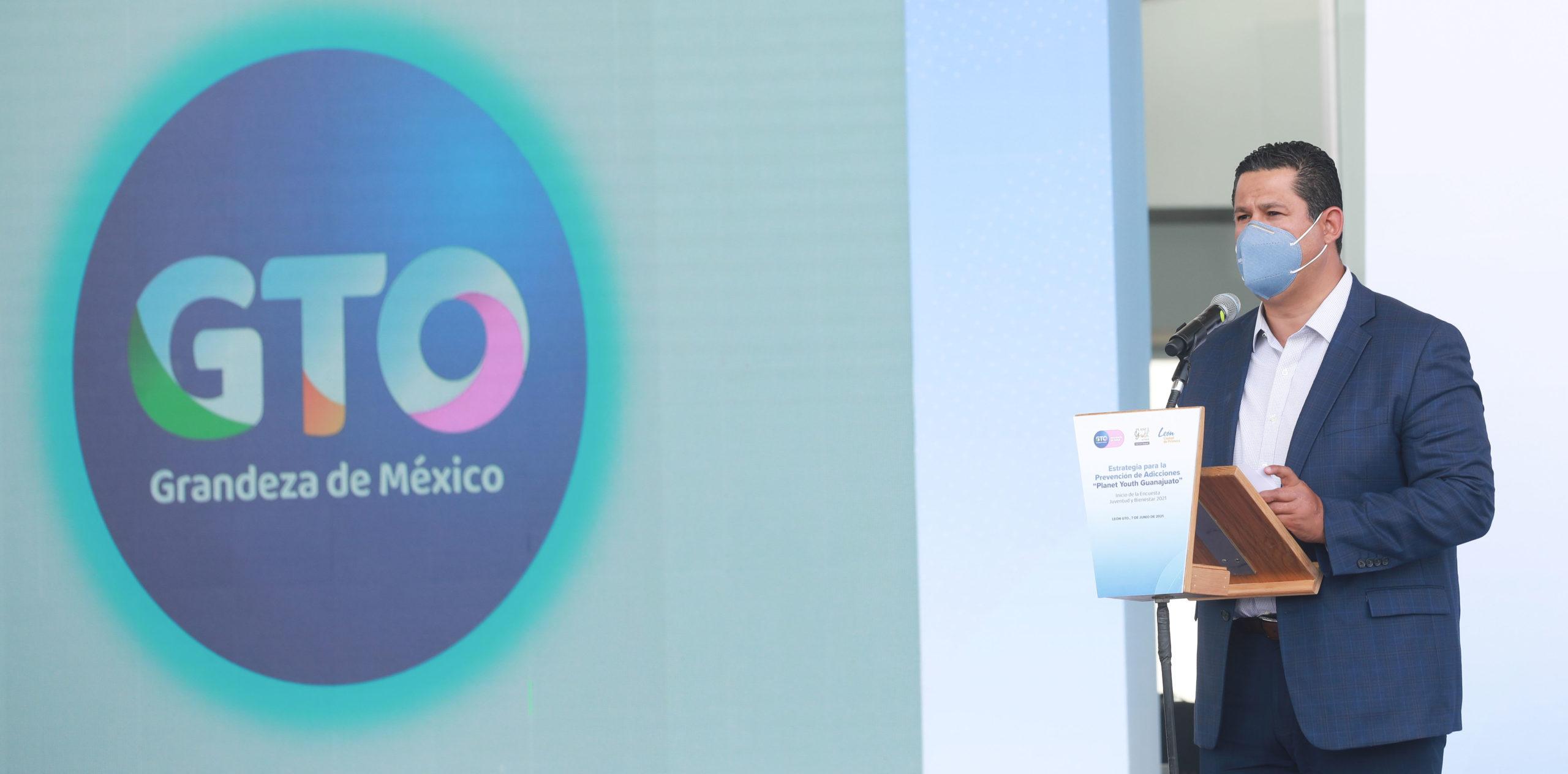 Exhorta el Gobernador de Guanajuato al compromiso social para erradicar el consumo de drogas en niños y adolescentes