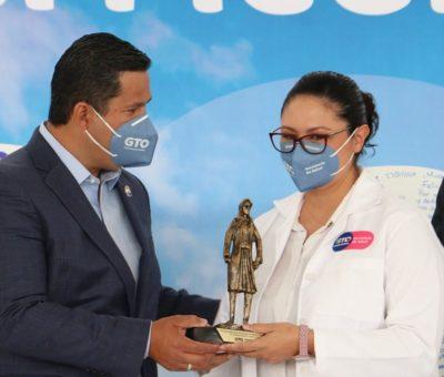 Guanajuato gana el primer lugar nacional de los Indicadores Caminando a la Excelencia en salud