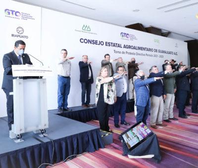 Reconoce Gobernador el esfuerzo de la gente del campo ante los retos generados por la pandemia del COVID.