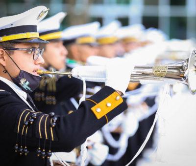 Inaugura Gobernador Encuentro Nacional de Escoltas y Bandas de Guerra del Instituto Tecnológico Nacional de México
