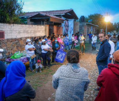 Aseguran comunidades rurales que van con Luis Alberto Villareal García
