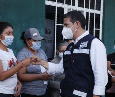 Garantiza Poncho Borja reformas para una atención integral a las familias del Distrito XIX.
