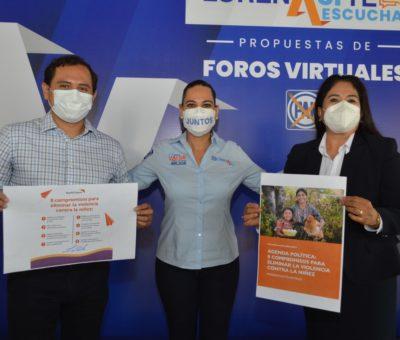 Refrenda Lorena Alfaro su compromiso en favor de la vida y las familias