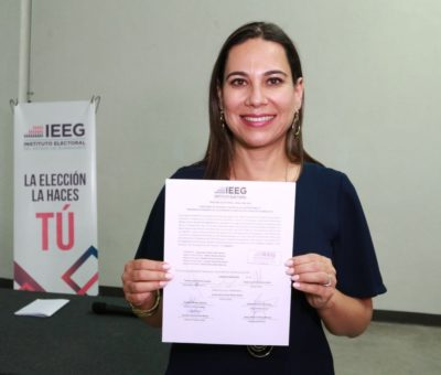 Oficialmente Lorena Alfaro es presidenta municipal electa