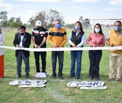 Asignan nomenclatura 'Daniel Martínez Chávez' al campo empastado sintético de fútbol en Deportiva Estatal.