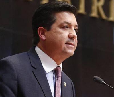 Congreso de Tamaulipas presenta iniciativa para proteger fuero del gobernador