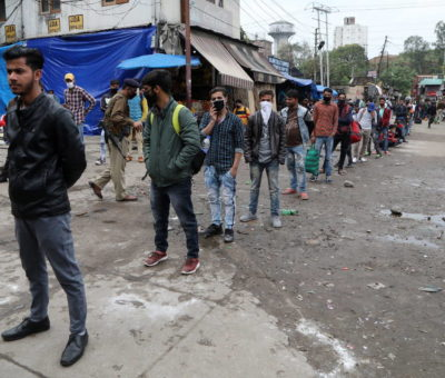 India reabre las principales ciudades tras sufrir meses con altos índices de contagios de coronavirus