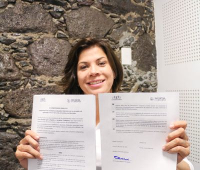 Se compromete Itzel Balderas a favor de la vida, la familia y libertades fundamentales