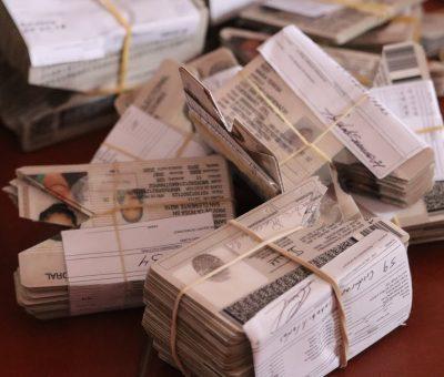 Destruye INE Guanajuato cerca de 231 mil 770 formatos de Credencial y Credenciales para Votar