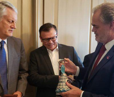 Internacionalizan Guanajuato con gira de trabajo por Estados Unidos