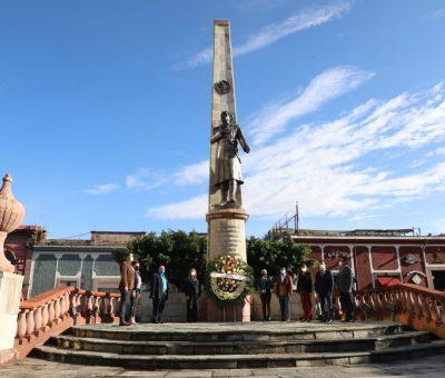 Conmemoran 256 aniversario del nacimiento de José María Morelos y Pavón