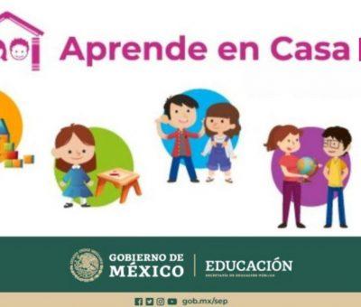 Secretaría de Educación señala que aprende en Casa seguirá funcionando