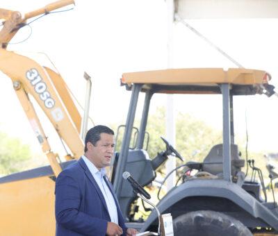 Gobierno del Estado destina más de 38 MDP para caminos rurales en Pénjamo