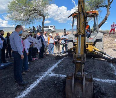 Dan inicio trabajos de planta de tratamiento de aguas residuales en Pénjamo
