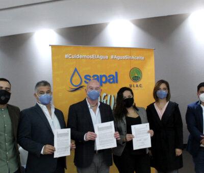 Inicia SAPAL campaña de recolección de aceite comestible usado