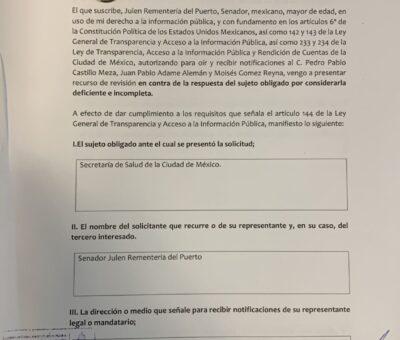 Los mexicanos merecen saber por qué se destinaron más de 255 MDP al régimen cubano