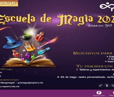 LLEGA LA ESCUELA DE MAGIA – GENERACIÓN 2021 A PARQUE EXPLORA