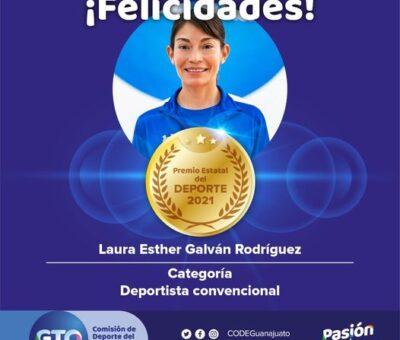 Laura Galván gana el Premio Estatal del Deporte 2021